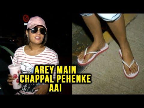 Richa Chadda Wears Chappals, Feels Embarrassed To