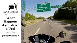 4. Can You Ride a Ural on the Interstate? And other FAQs