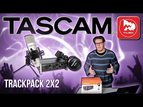 TASCAM TrackPack 2x2 - набор для домашней звукозаписи