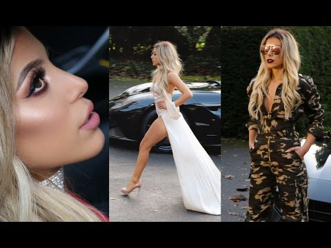 GLAM PARTY LOOKBOOK | NAKED DRESSES