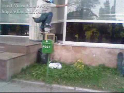 baku skateboarding (видео)