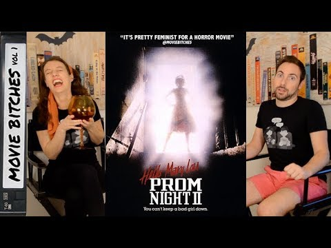 Hello Mary Lou: Prom Night 2 | Movie Review | MovieBitches RetroReview Ep 24