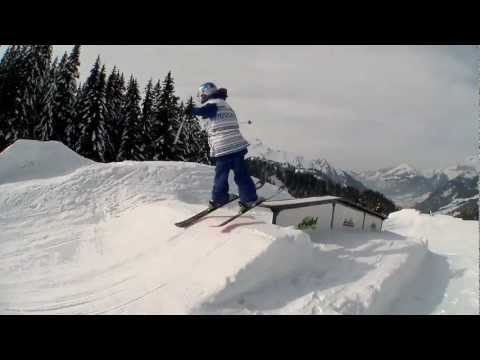 10 Yr Old Freestyle Skier Kelly Sildaru