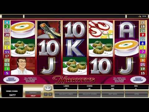 Free Harveys Slot by Microgaming Video Preview | HEX