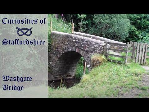 Curiosities of Staffordshire- Washgate Bridge