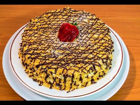 torta napoleon millefoglie - ricetta
