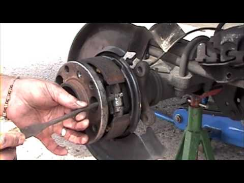 Mercedes Sprinter – Adjust the Parking – Hand Brake – How Does it work? – Howto