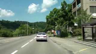Dietikon Switzerland  City new picture : From Dietikon to Würenlos/ Switzerland/ Driving Video/ 06.2013/ FullHD