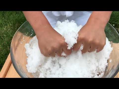 Как сделать свой снег 384