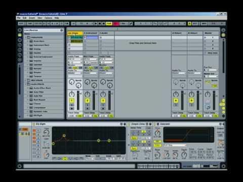 Ableton tutorial: macro controls
