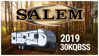 3. 2019 Forest River Salem 30KQBSS Travel Trailer For Sale TerryTown RV Superstore
