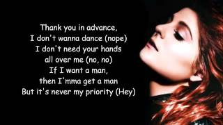 No - Meghan Trainor - Lyrics Video