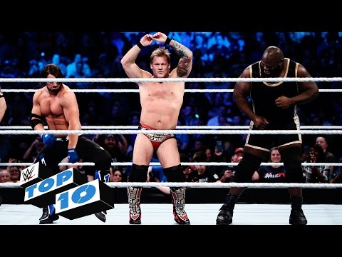 Video Top 10 SmackDown moments: WWE Top 10, February 25, 2016 download in MP3, 3GP, MP4, WEBM, AVI, FLV February 2017