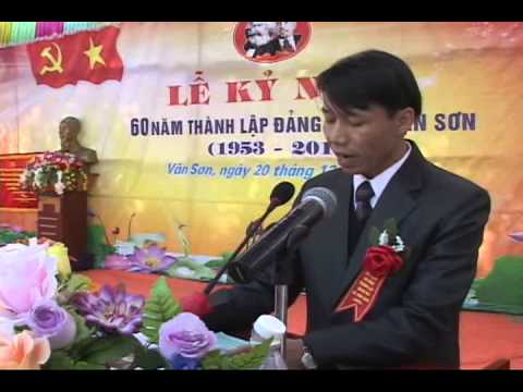 Lễ kỷ niệm 60 năm thành lập Đảng bộ xã Vân Sơn, huyện Triệu Sơn pas 4