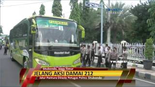 Pasuruan Indonesia  city photo : Jelang Aksi 212 Polres Pasuruan Gelar Razia Penumpang Bus