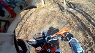 2. 2011 KTM 530 XC-W Six Days GoPro Hero 2