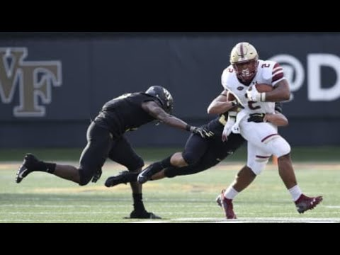 Boston College vs Wake Forest 2018 CFB Highlights (HD)