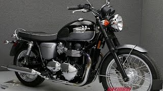 6. 2013  TRIUMPH  BONNEVILLE T100  - National Powersports Distributors