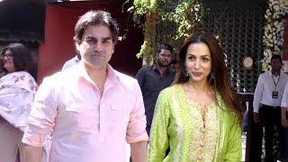 Video Malaika arora khan And arbaz khan Visit Arpita Khan Sharma house For Ganpate celebration MP3, 3GP, MP4, WEBM, AVI, FLV Januari 2019
