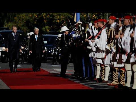 Έφτασε στην Αθήνα ο Ερντογάν