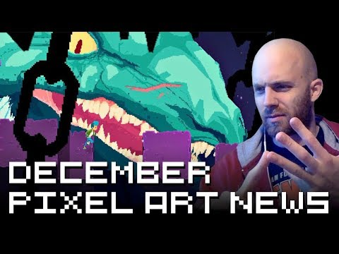 Retronator Pixel Art News December 2017 (видео)