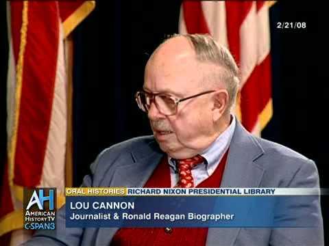 C-SPAN Oral Histories: Lou Cannon