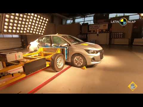 Chevrolet Onix Plus crash test