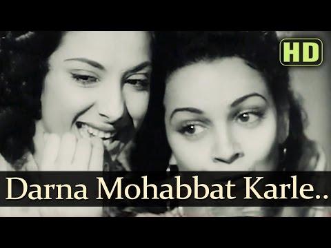 Video Darr Na Mohabbat Karle - Andaz - Dilip Kumar - Nargis - cucco - Old Hindi Songs download in MP3, 3GP, MP4, WEBM, AVI, FLV January 2017