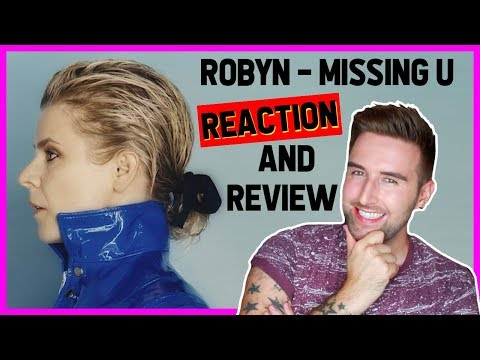 Robyn - MISSING U [REACTION & REVIEW] | ThatsNathan