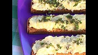Crostini di baccalà e patate