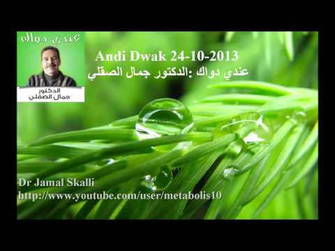 Dr Jamal Skali : Andi Dwak 24-10-2013 عندي دواك : الدكتور جمال الصقلي (видео)