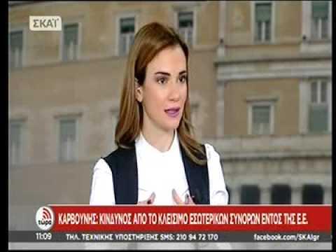 Ο Επικεφαλής της Αντιπροσωπείας της ΕΕ στην Ελλάδα κ. Πάνος Καρβούνης στον ΣΚΑΙ (02/02/2016)