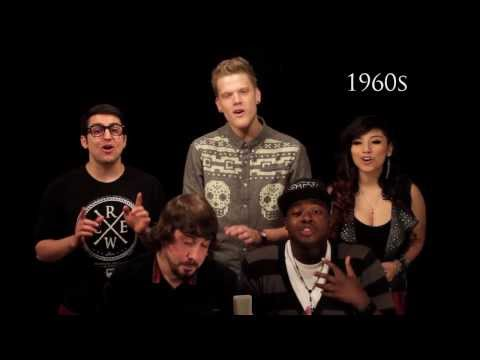 Evolution of Music - Pentatonix (видео)