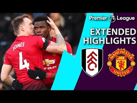 Video: Fulham v. Manchester United | PREMIER LEAGUE EXTENDED HIGHLIGHTS | 2/9/19 | NBC Sports