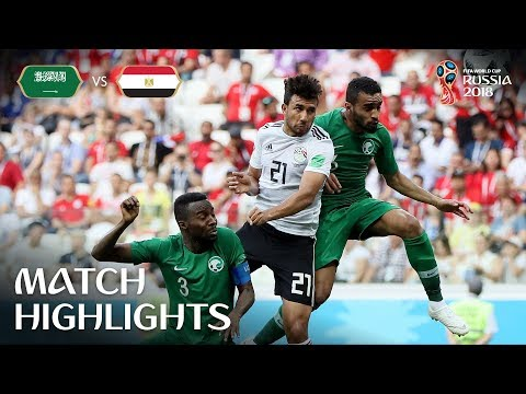 Saudi Arabia v Egypt - 2018 FIFA World Cup Russia™ - Match 34