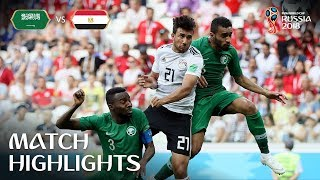 Video Saudi Arabia v Egypt - 2018 FIFA World Cup Russia™ - Match 34 MP3, 3GP, MP4, WEBM, AVI, FLV September 2018
