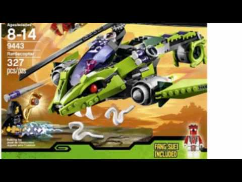 Video New product video released online for the Ninjago Rattlecopter 9443