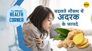 Benefits of ginger in the changing season - बदलते..