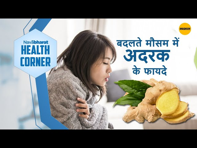 Benefits of ginger in the changing season - ..