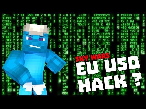 Minecraft: Sky Wars EU USO HACK ?