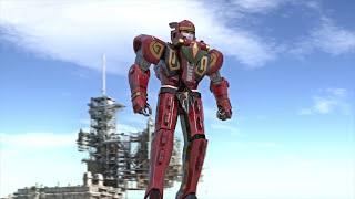 Nonton Red dragon thunderzord / Ryuuseioh - animation test megazord CGI Film Subtitle Indonesia Streaming Movie Download