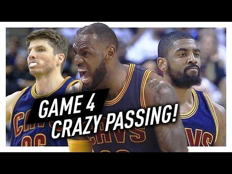 LeBron James, Kyrie Irving & Kyle Korver Game 4 Highlights vs Raptors 2017 Playoffs - CRAZY!