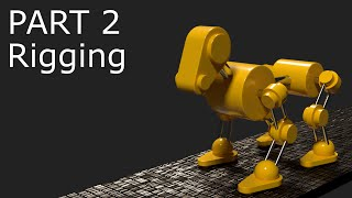http://www.LittleWebHut.com This is the second in a 3 part video series that demonstrates how to use Blender to make an animation of a Robot Dog. Part 1 of the series covers Modeling the dog. Part 2 covers Rigging. Part 3 uses the Graph Editor, Dope Sheet, and NLA Editor to Animate the dog. Blender version 2.77a was used for this tutorial. This video shows techniques that may be helpful to beginners and intermediate users.Blender website http://www.blender.org