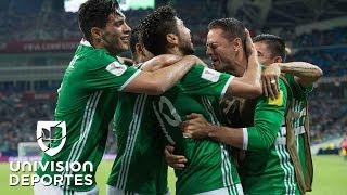 La selección mexicana, con la esforzada victoria por 2-1 ante el campeón de Oceanía, trepó a la cima de la tabla del Grupo A.