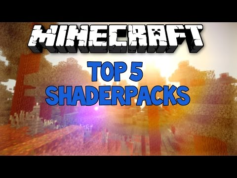 TOP 5 MINECRAFT SHADERS (SHADERPACKS) [1.7.2-1.8.3] | BreukieCrafting (видео)