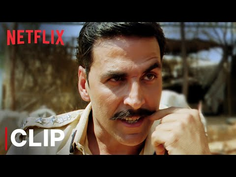 Don't Angry Me | Akshay Kumar | Rowdy Rathore | Netflix India
