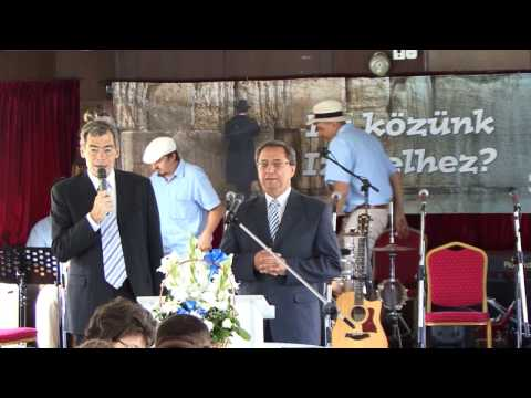 """""""Mi közünk Izraelhez?"""" Mészáros Kálmán, Sabbathsong Klezmer Band, Nelu Mot, Frent Onoria"""