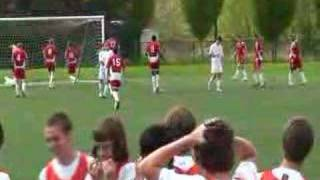 An Amazing Free Kick Attempt, But An Even Better Save...
