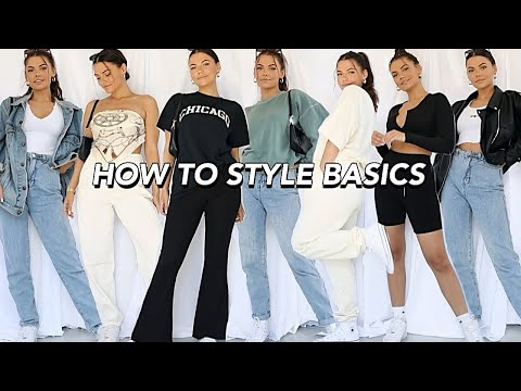 SPRING TRY-ON STYLING HAUL   how to style basics!