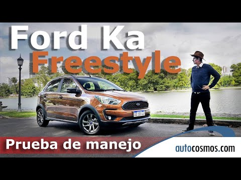 Test nuevo Ford Ka Freestyle Manual